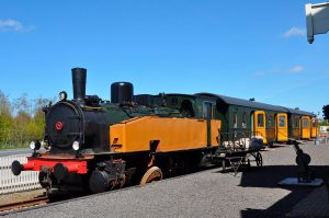 De Pannekoektrein Marrum Locomotief