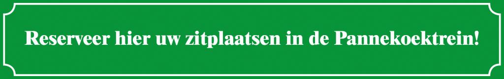 Reserveer zitplaatsen Pannekoektrein Marrum Station Pannenkoeken eten Friesland